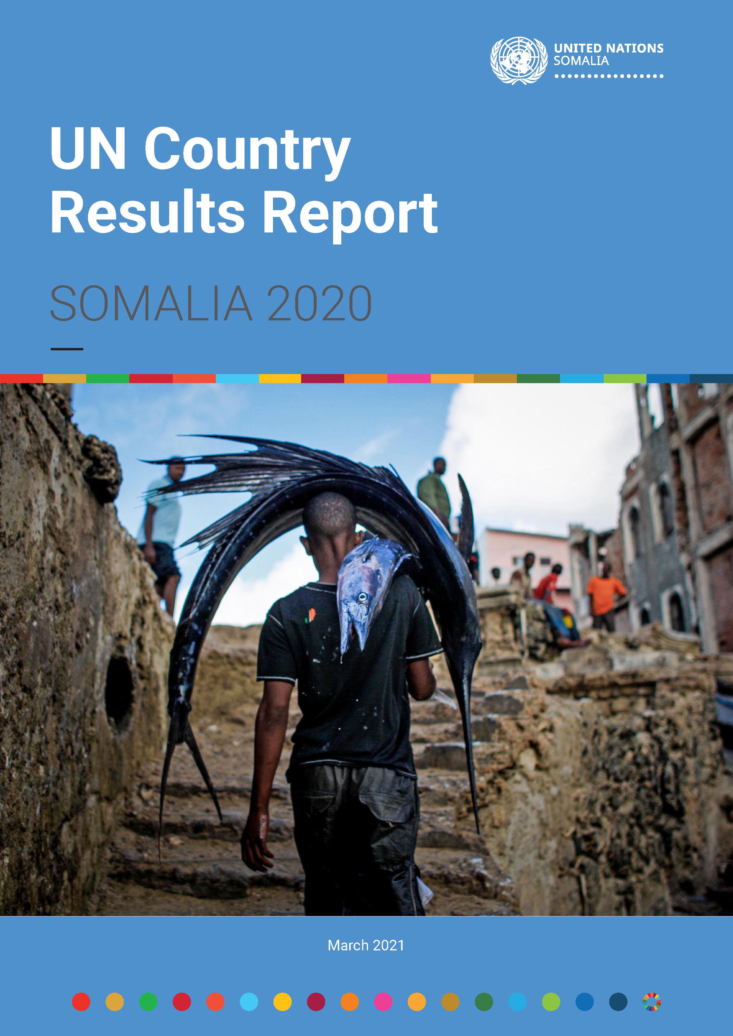 UN Somalia Country Results Report 2020